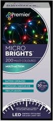 PREMIER LB151211M  200 Bo M-A Microbrights Multi With Timer